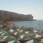 пляж колхозный судак
