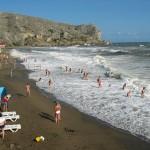 пляж лагерный судак