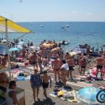 пляж центральный 2 судак