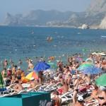 пляж центральный 3 судак
