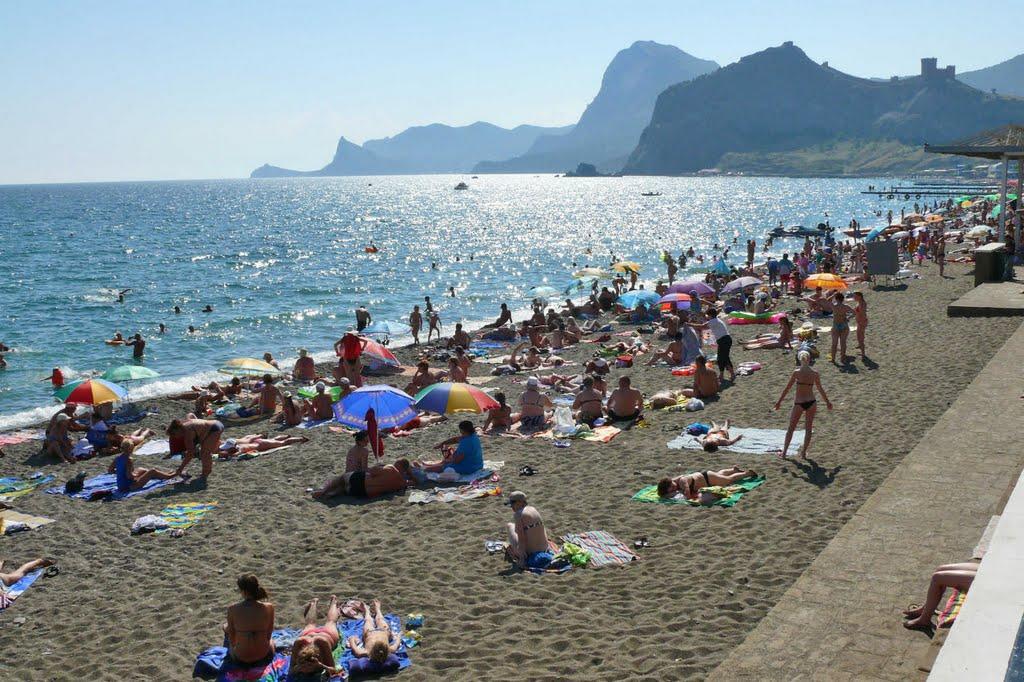 судак фото города и пляжей