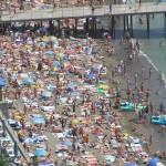 портовый пляж судак