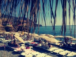 Пляж Меганом такси