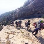 Гора Сокол в Новом Свете скалолазы