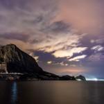Гора Сокол и Новый Свет вечером