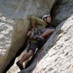 Гора Сокол в Новом Свете альпинист
