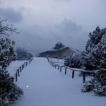 Тропа Голицына зимой Капчик