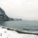 Зима Нового Света Фотография набережной
