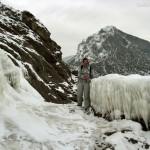 На Тропе Голицына зима Новый Свет