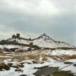 Крепость зимой