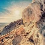 Тропа Голицына зима снег