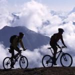 Велосипеды в горах