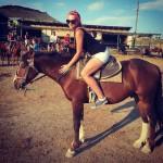 Катание на лошади в Судаке