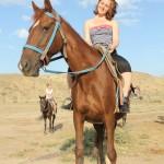 Прогулки на лошадях меганом