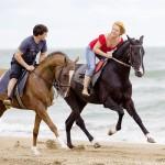 Катание на лошади по пляжу