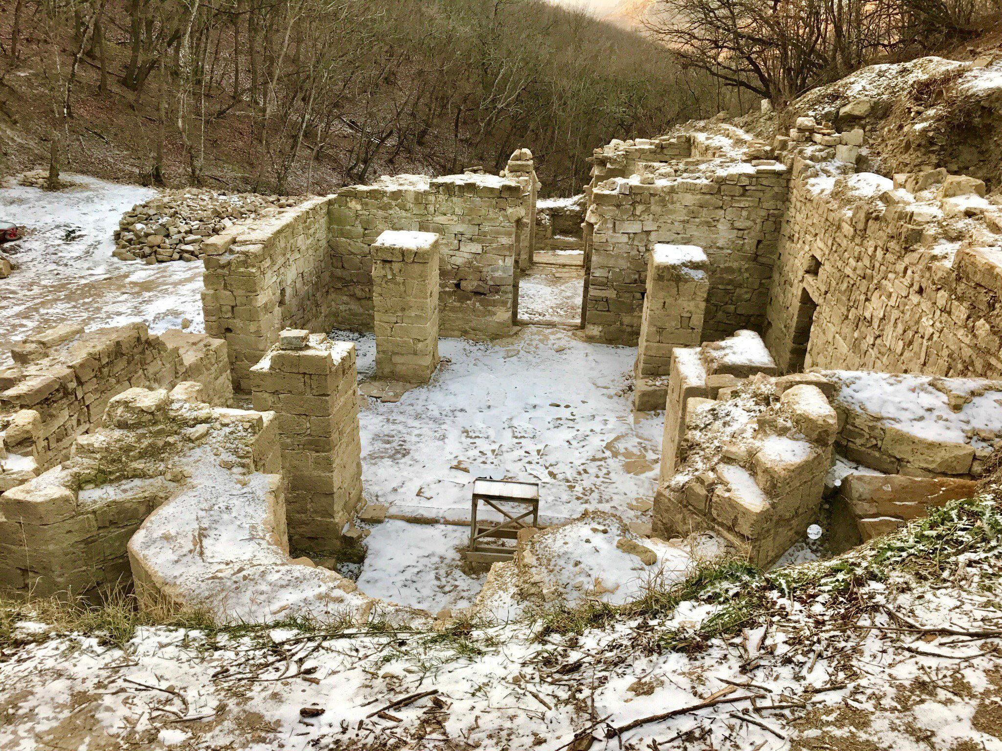 Византийский храм. Раскопки Судак